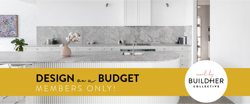 Design on a Budget-MEMBERS ONLY