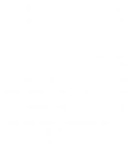 talkFEST Logo FINAL White