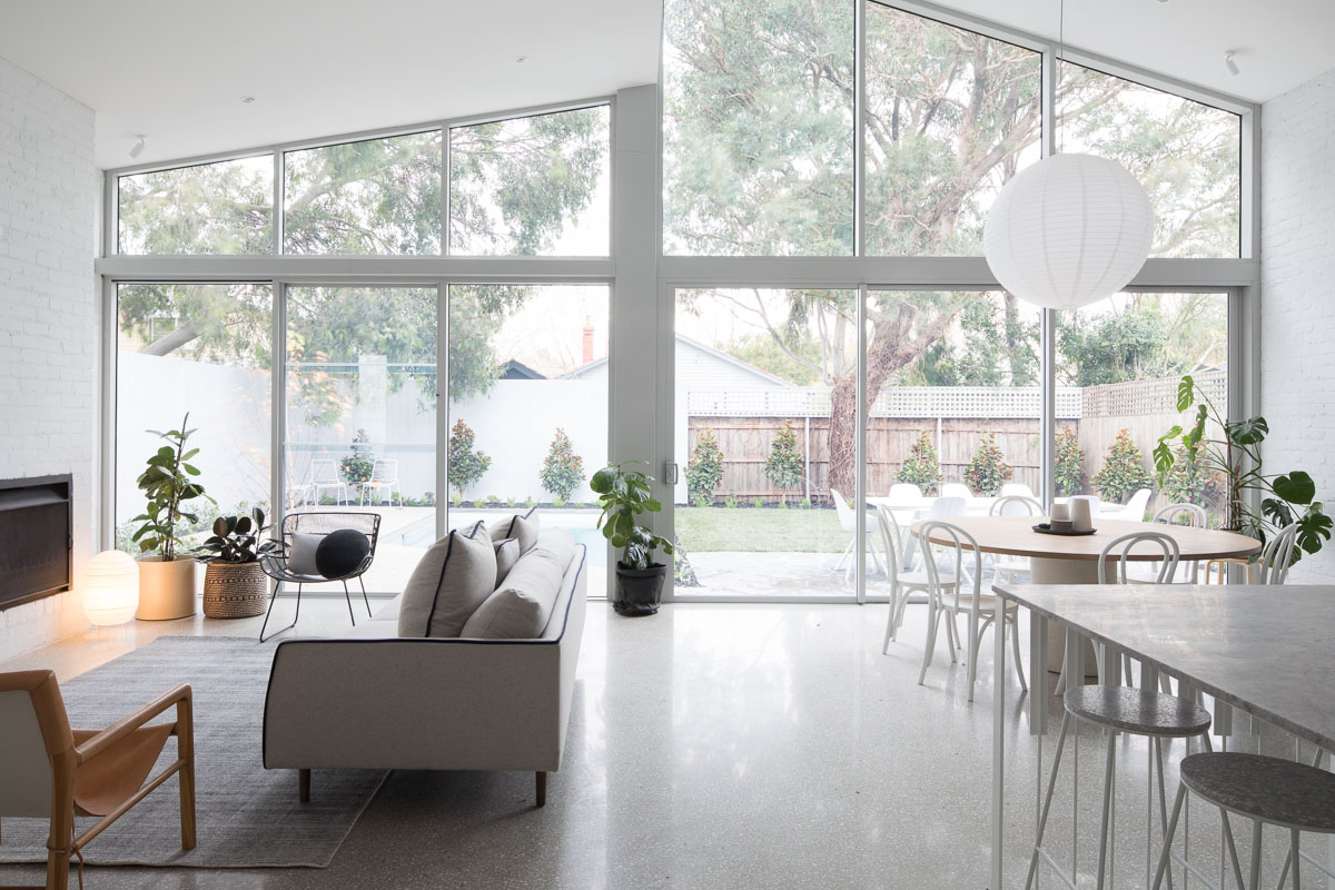 Naroon House | An excellent example of natural light flooding  a space | Image Dylan James