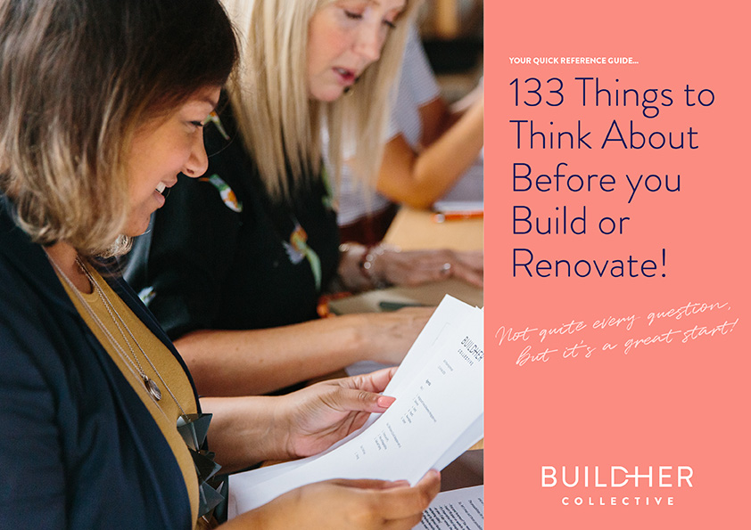133 Things to Think About Before you Build or Renovate