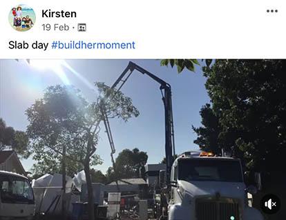 buildhermoment Kirsten 19 February 2021