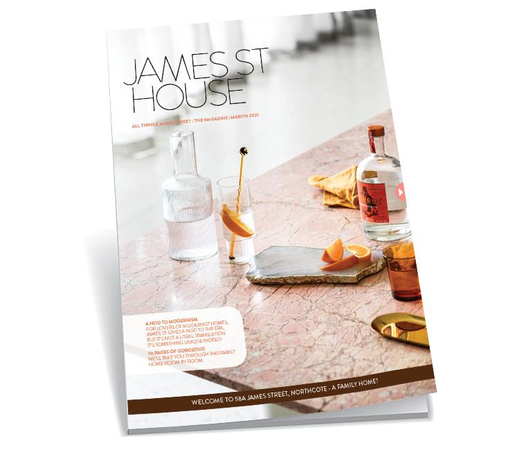 James Magazine FRONT FAKE 2