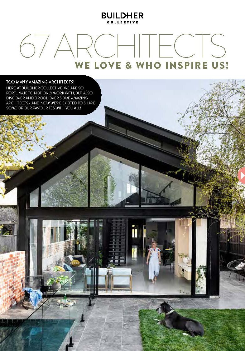 67 Architects We Love & Who Inspire Us from BuildHer Collecive - FRONT COVER